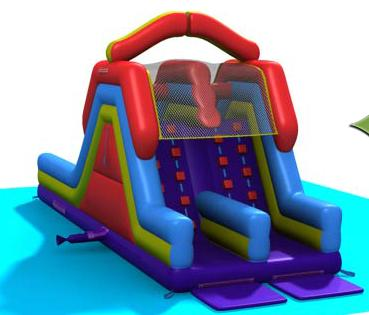 Bouncy Monster Slide - Astro Jump Calgary