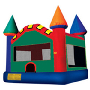 Green Bounce Castle - Astro Jump
