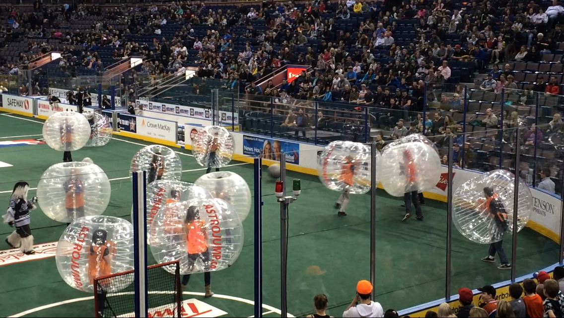 Bubble ball - Astro Jump Calgary
