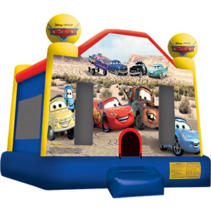 Cars Bounce House - Astro Jump