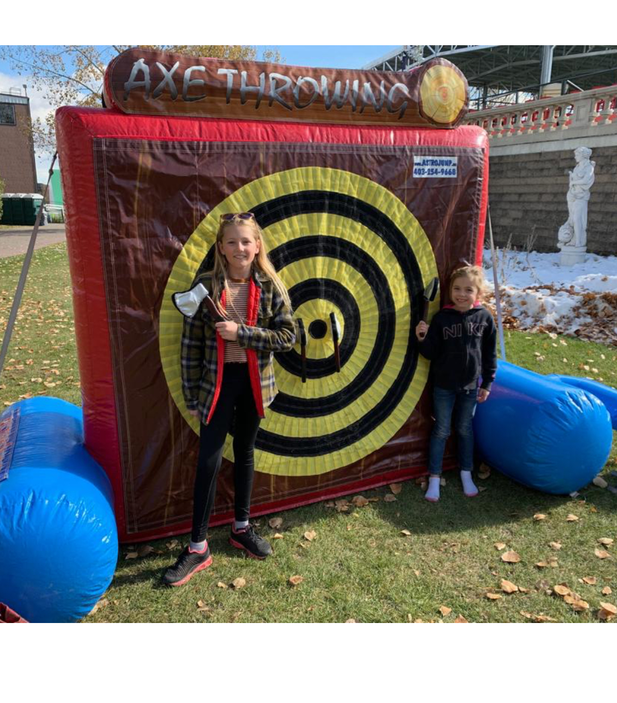 Inflatable Rentals In Calgary Interactive Games Astro Jump